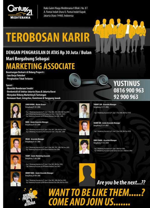 BECOME MARKETING ASSOCIATE